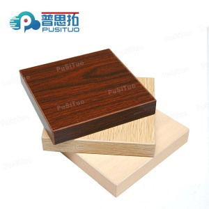 Solid particles board